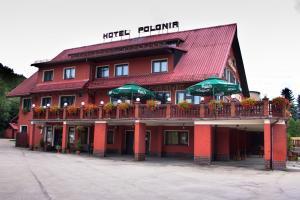 Hotel Restauracja Polonia z Wisła, ul.Wyzwolenia 34